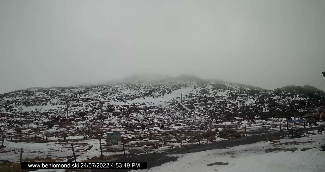 Ben Lomond Summit Snow Cam, Tasmania