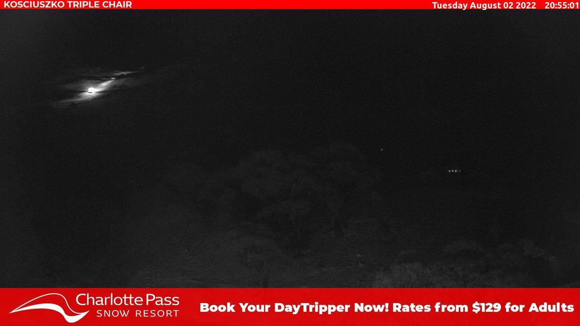 Basin T-bar Snow Cam, Charlotte Pass