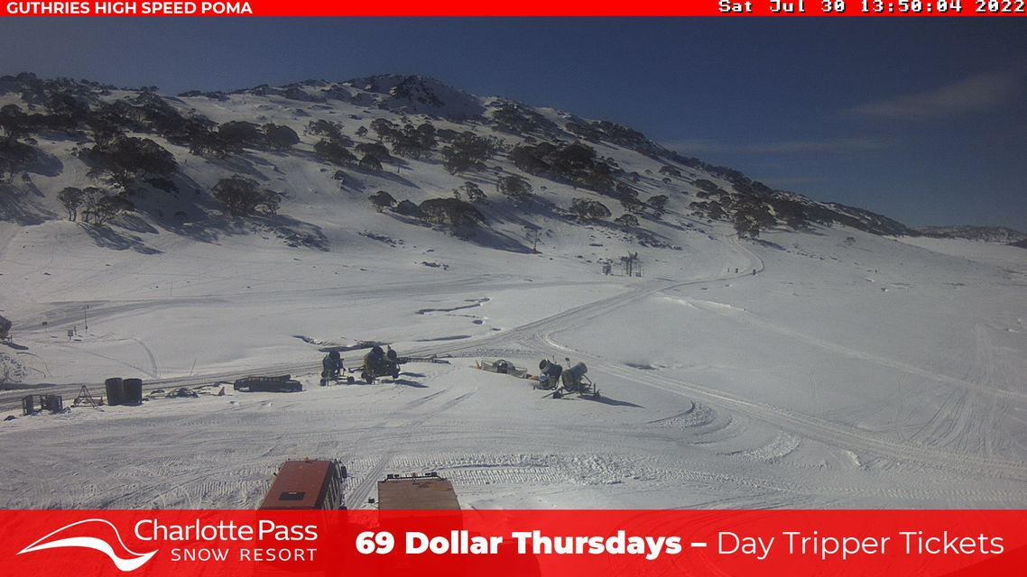 Guthries Snow Cam, Charlotte Pass