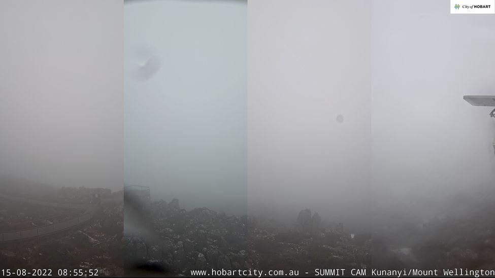 Mt Wellington Snow Cam, Tasmania