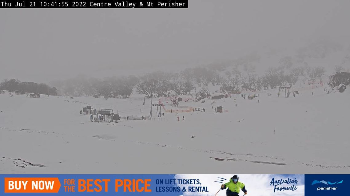 Centre Valley Snow Cam, Perisher