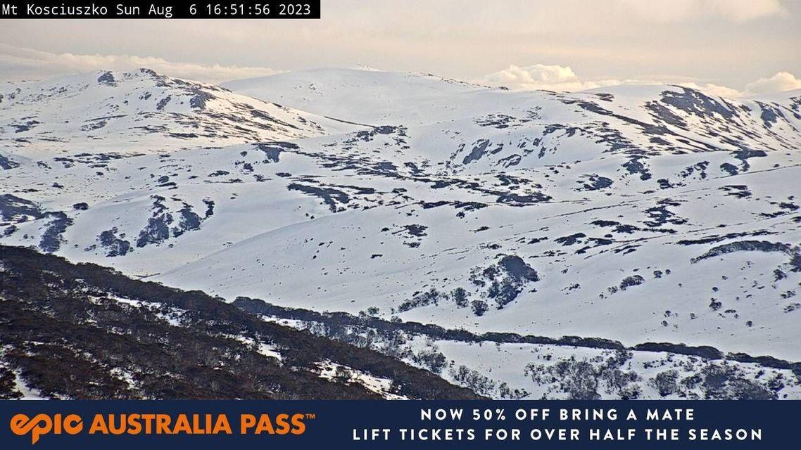 Mt Kosciuszko Snow Cam, Perisher