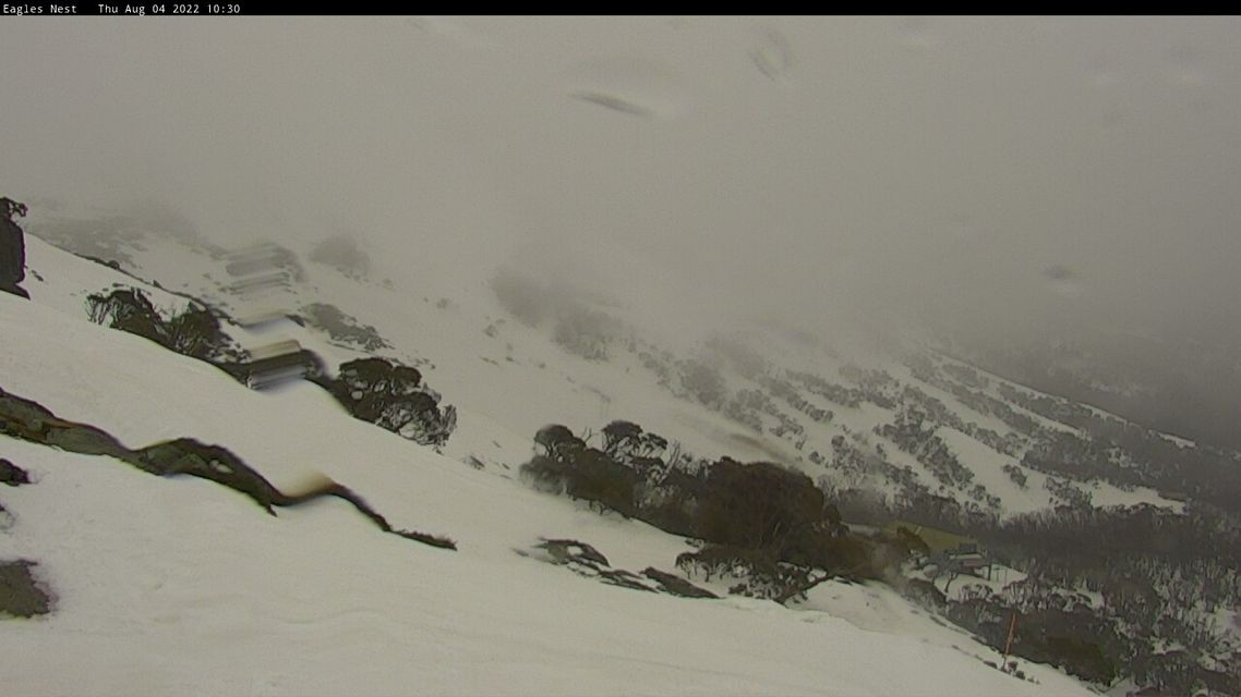 Central Spur Snow Cam, Thredbo