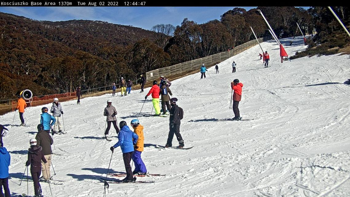 Lower Supertrail Snow Cam, Thredbo