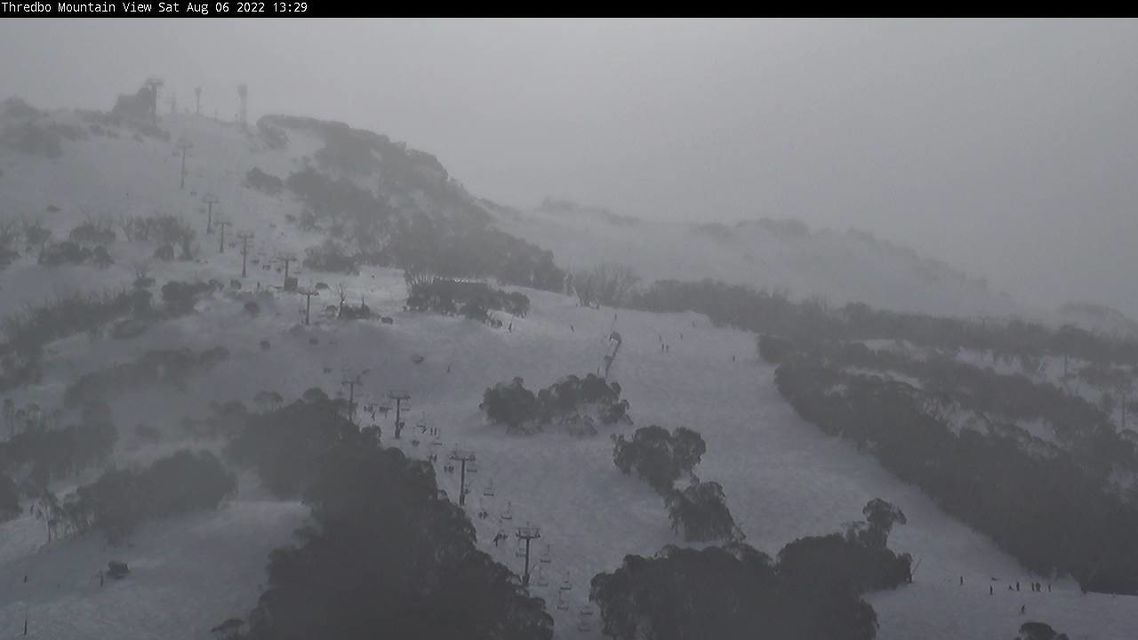 Supertrail Snow Cam, Thredbo