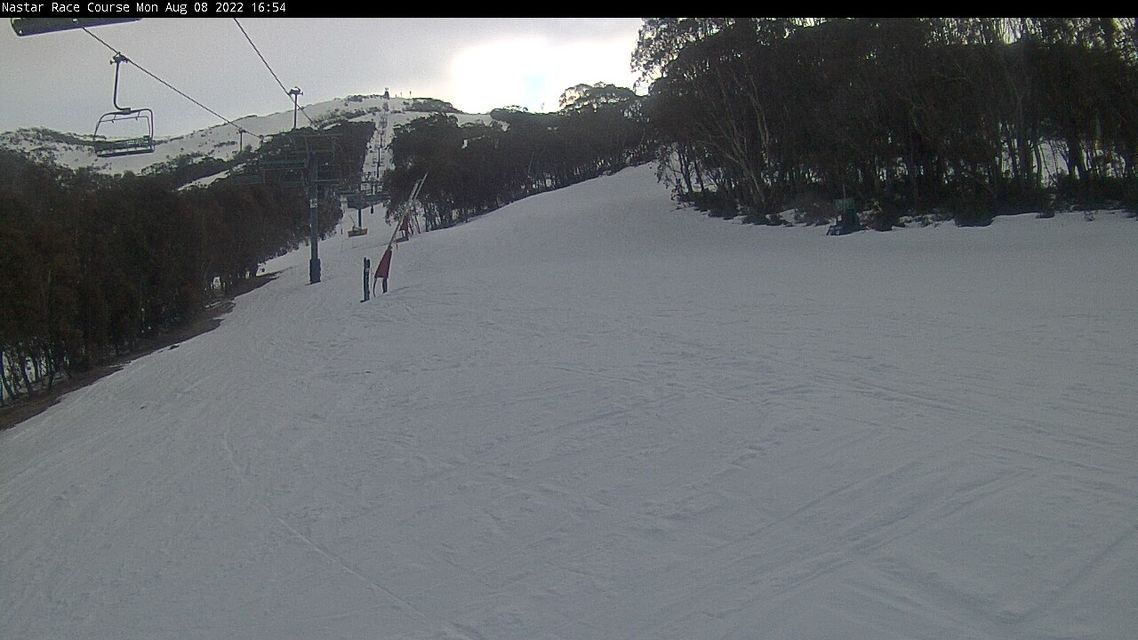 Upper Intermediate Superpark Snow Cam, Thredbo