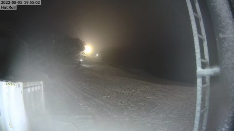 Hut Roll Snow Cam, Mt Baw Baw