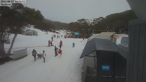 The Bowl Snow Cam, Mt Baw Baw