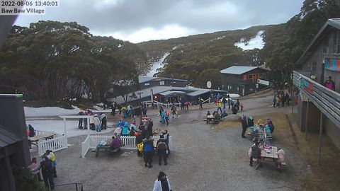 Village Snow Cam, Mt Baw Baw
