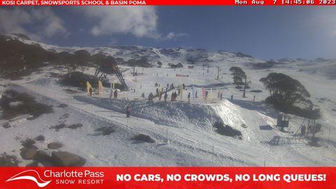 Kangaroo Ridge Snow Cam, Charlotte Pass