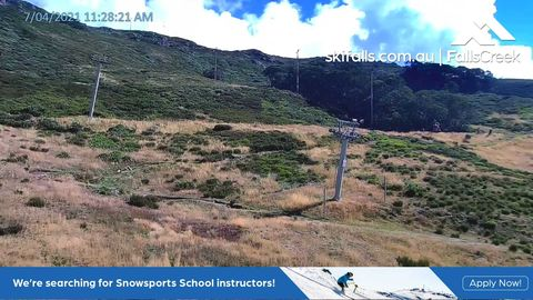 Summit Load Snow Cam, Falls Creek