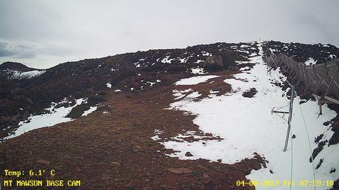 Mt Mawson Tow Snow Cam, Tasmania