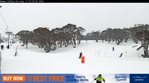 Happy Valley Snow Cam, Perisher