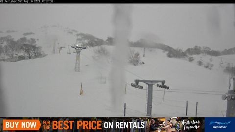 Mt Perisher Snow Cam, Perisher
