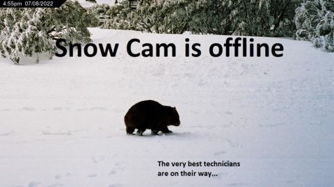 Gunuma Lodge Snow Cam, Perisher
